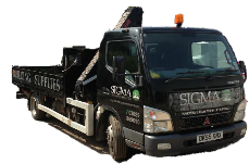 sigma delivery truck